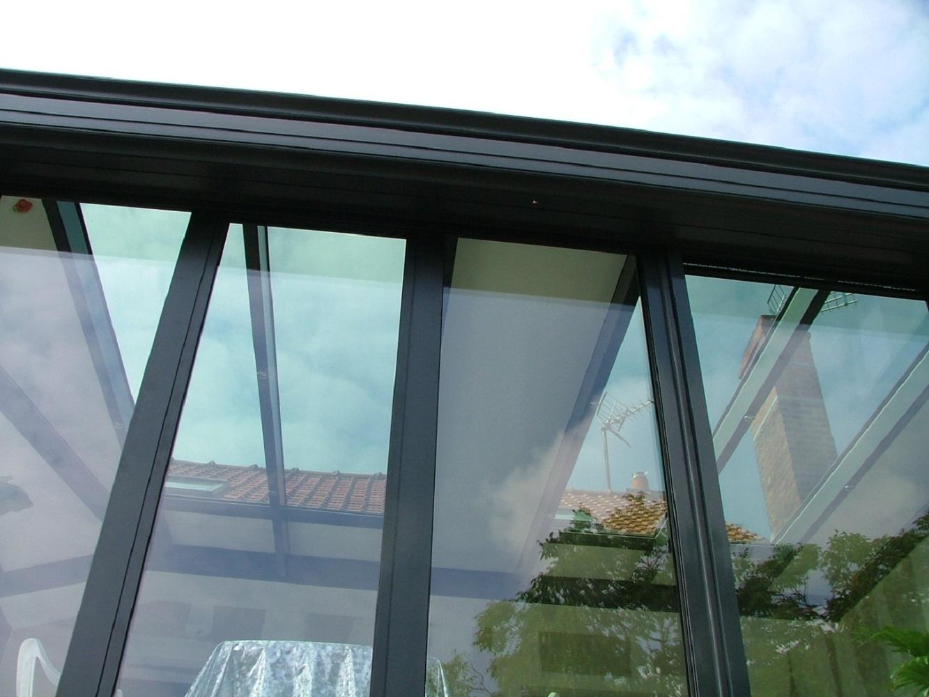 Veranda Bois Toit Plat - Véranda ossature bois toit plat